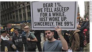 Dear 1 percent